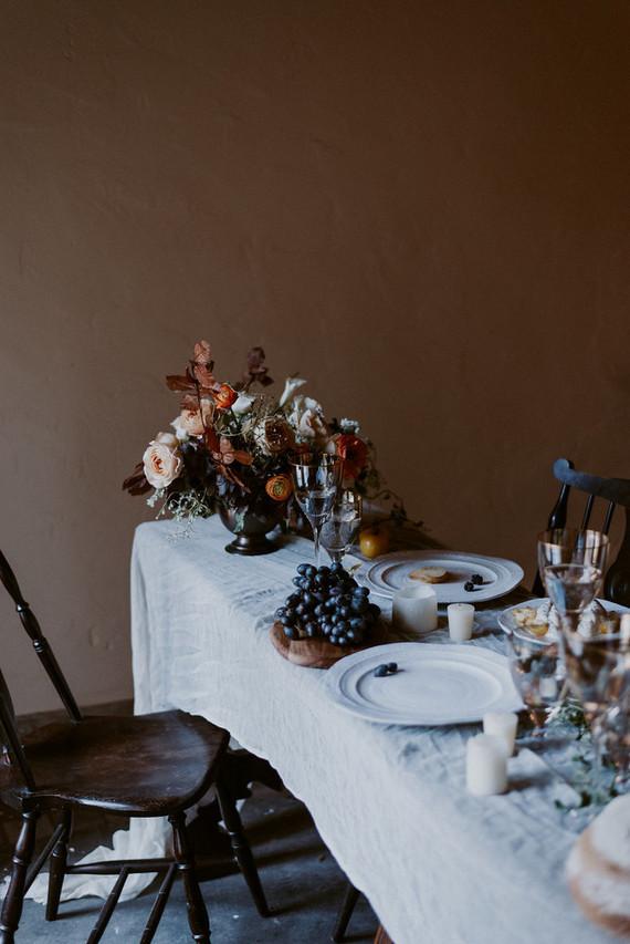 Autumn tablescape inspiration