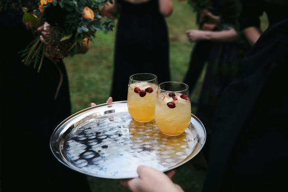 Halloween themed wedding