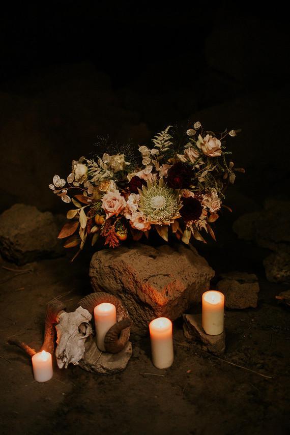 Dark moody florals