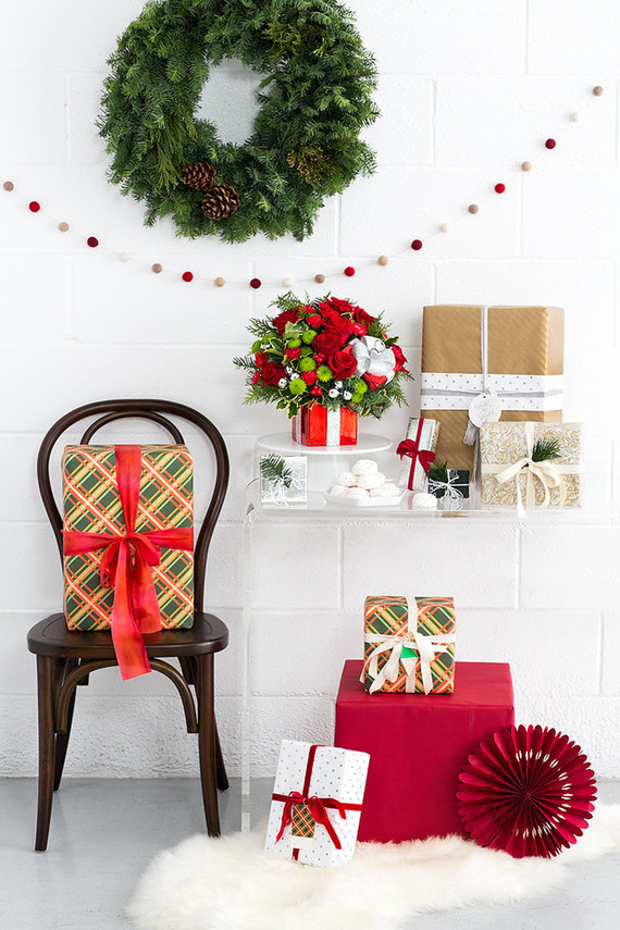 Modern Holiday Decorating Ideas Part - 38: We Are Just Beside Ourselves With Holiday Spirit At The Moment, Cakies. You  Are Too, Right?! Itu0027s Our Most Favorite, Festive, ...