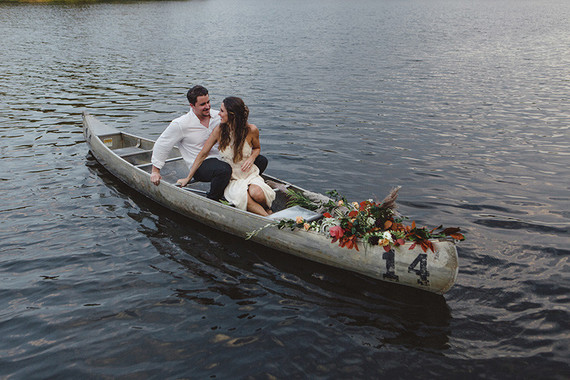 Lakeside wedding inspiration