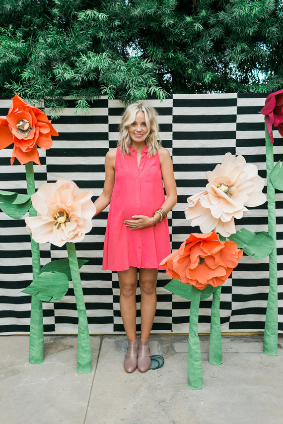 Poppy themed baby shower