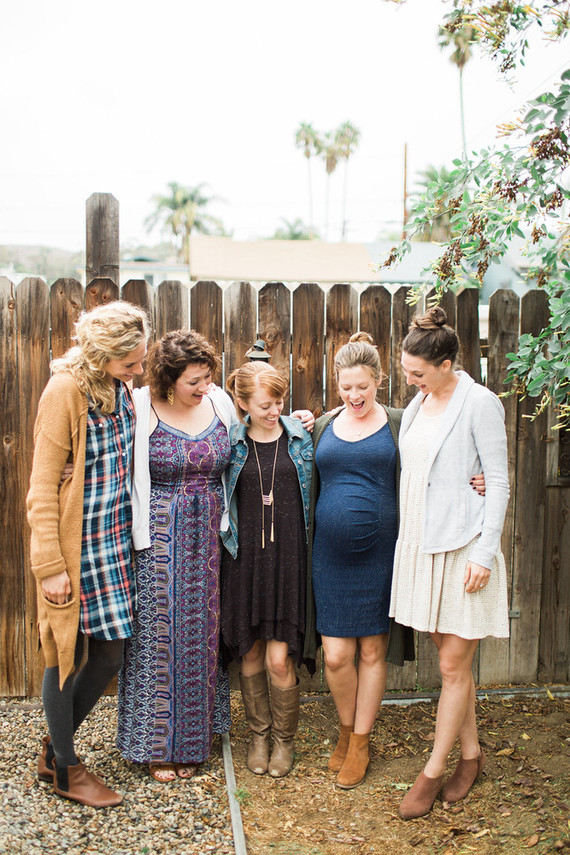 fall boho baby shower