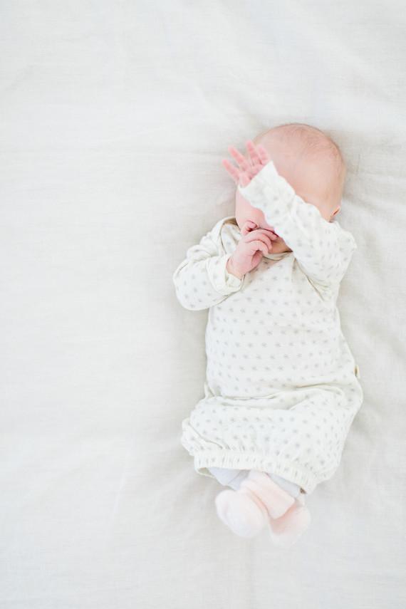 neutral natural light newborn photos