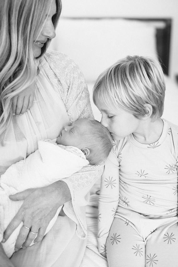 family newborn photos
