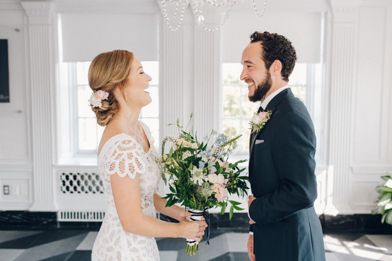 Couples first look
