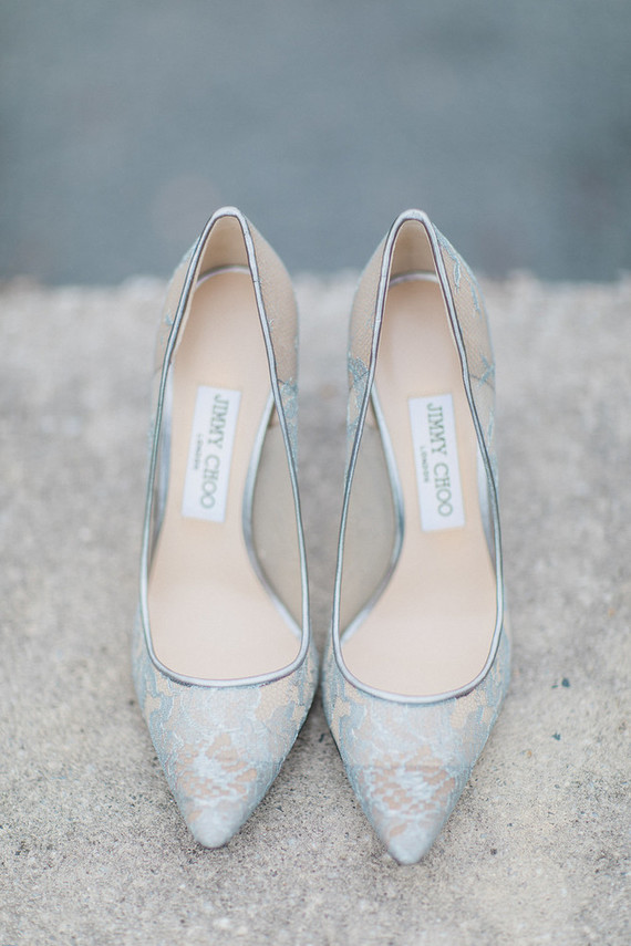 Jimmy Cho wedding shoes