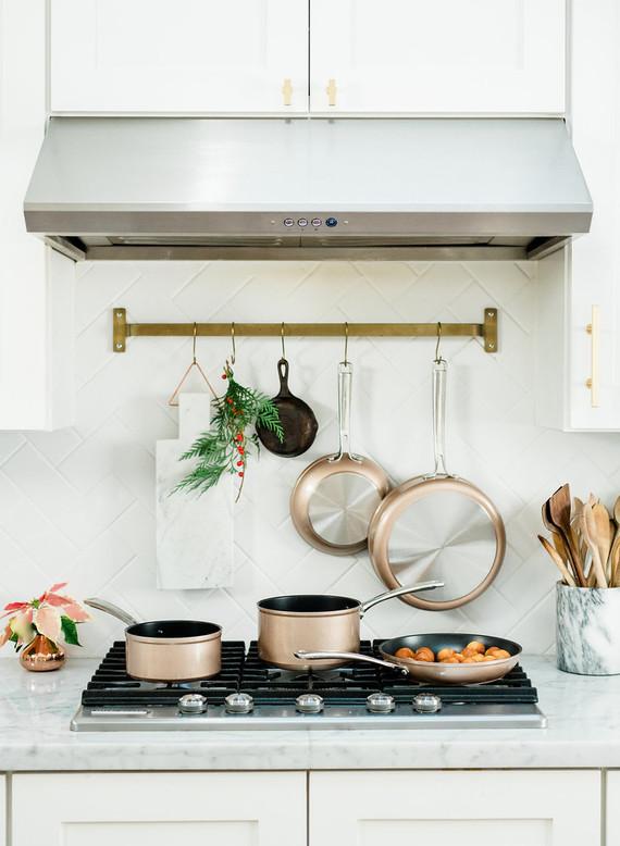 KitchenAid pot and pan set