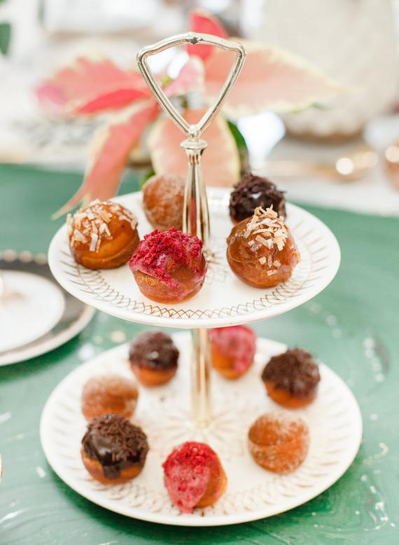 festive donut holes