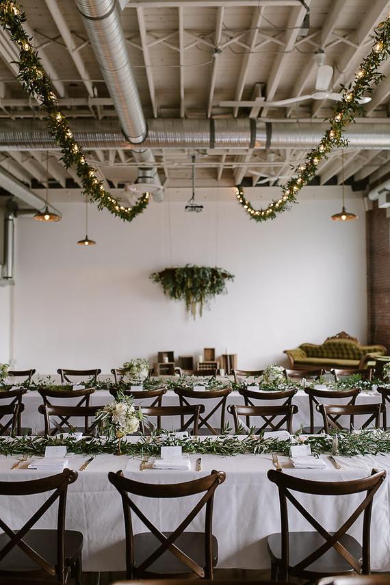 vintage industrial calgary wedding winter wedding 100 layer cake