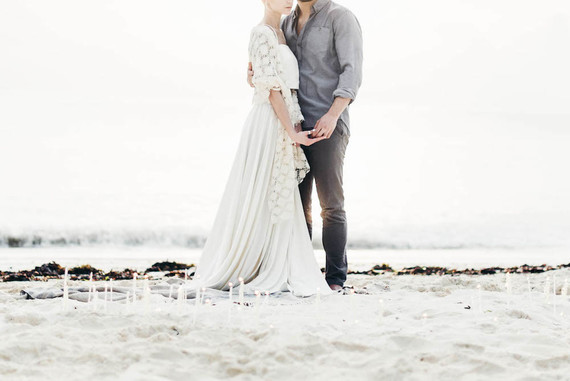 Elegant winter wedding in Zanzibar