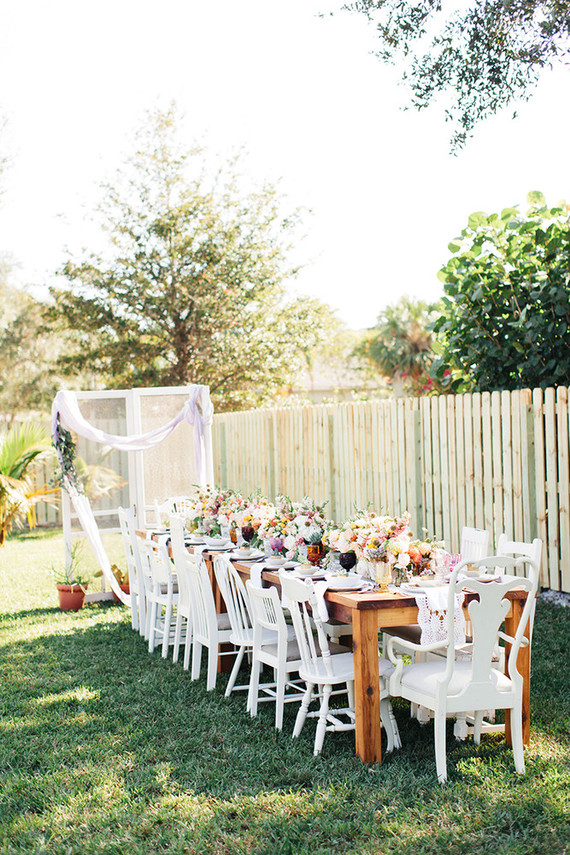 Boho bridal shower brunch