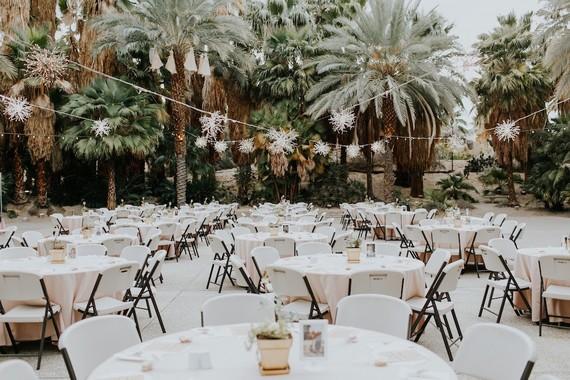 DIY desert wedding