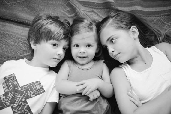 Modern family photos - The Shephard family in Houston