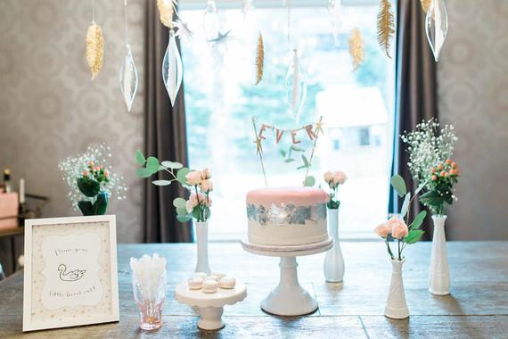 Swan Lake birthday party