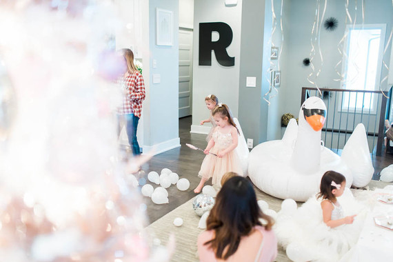 7e5c4d840 Swan Lake 3rd birthday party | Girl birthday party | 100 Layer Cakelet