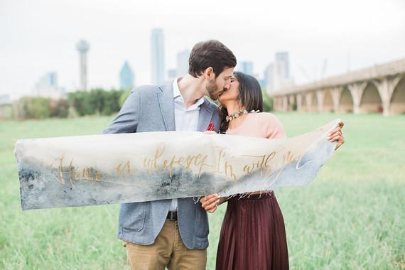 Dallas engagement shoot