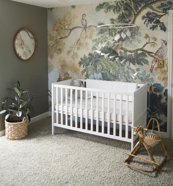 Angel Themed Design For A Baby Girl S Nursery: Jungle Book Themed Nursery