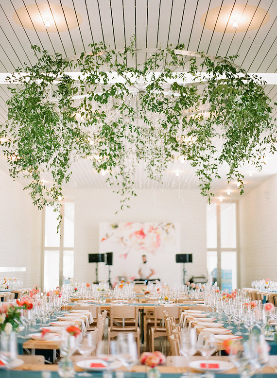 modern wedding decor. Modern wedding decor Texas at Prospect House  100 Layer Cake