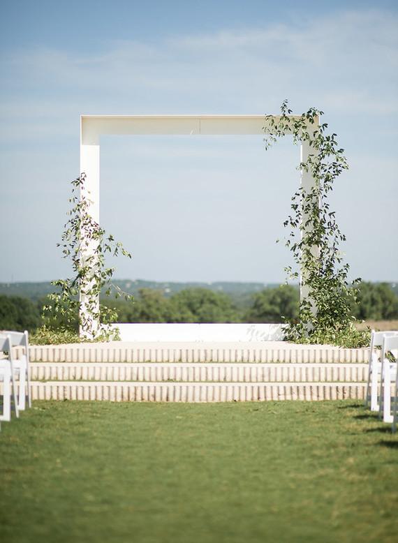 Prospect House wedding ceremony