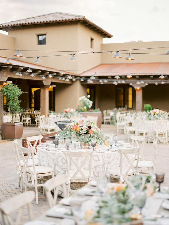 Southwest inspired Arizona wedding