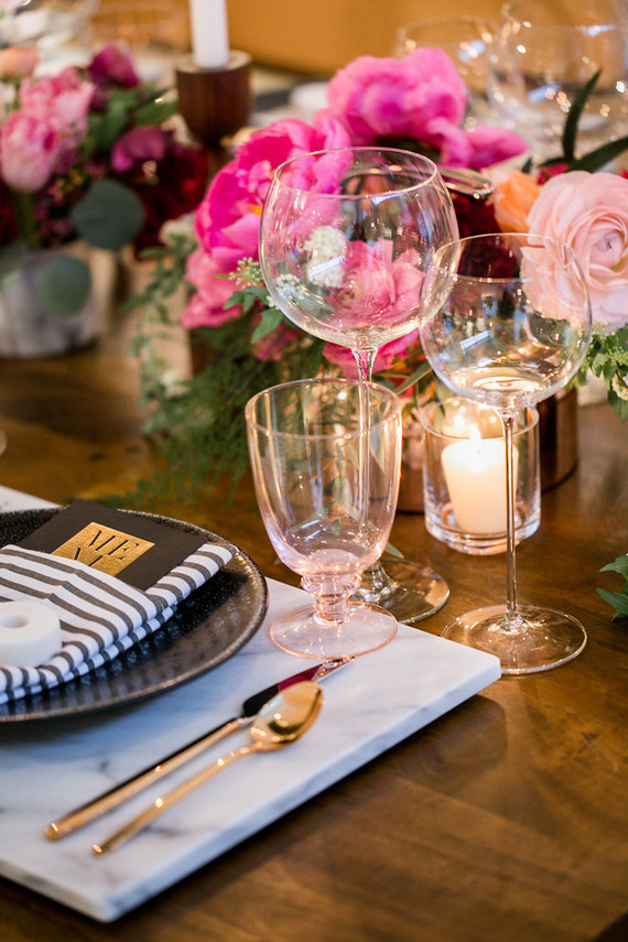 Crate and Barrel wedding event