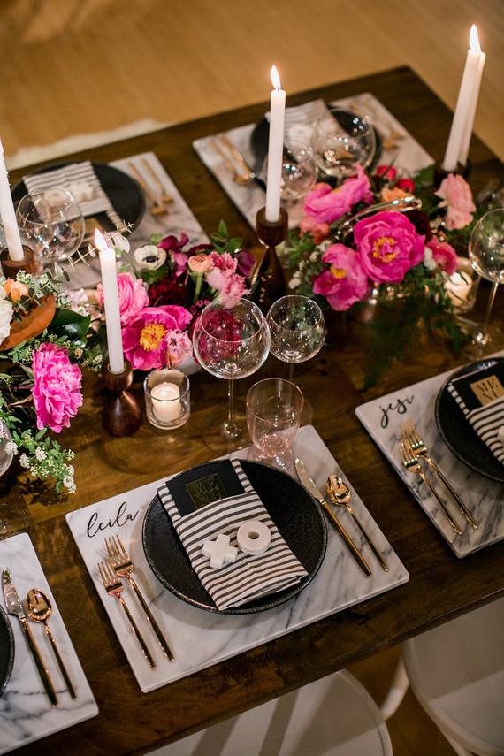 Valentine S Day Dinner Party Modern Wedding 100 Layer Cake