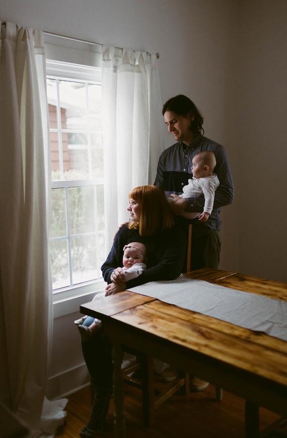 twin family photos