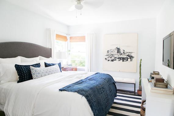 classic modern bedroom