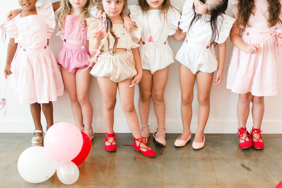 Little girls Valentine's party