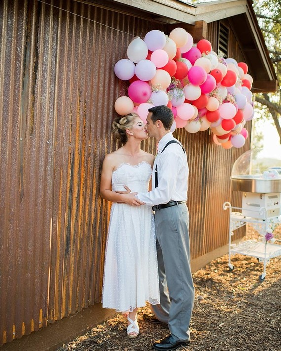 Vintage Valentine's wedding inspiration