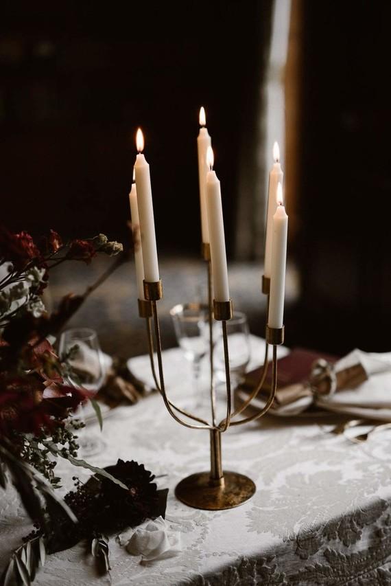 Elegant candelabra