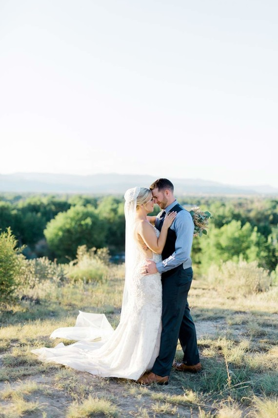 Colorado wedding portrait