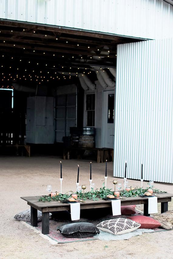 Modern farm wedding inspiration