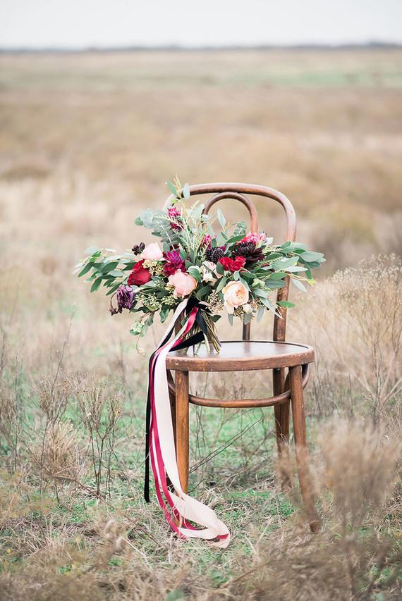 Farm wedding bouquet