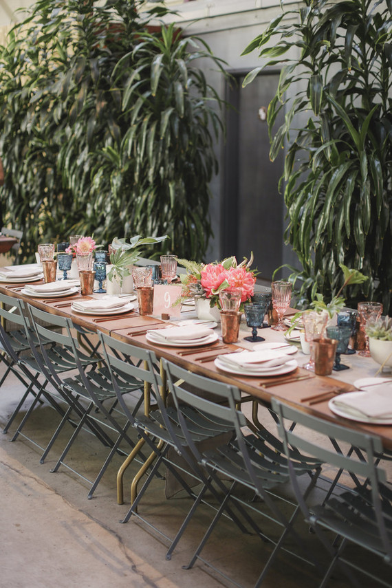 Modern Millwick LA wedding