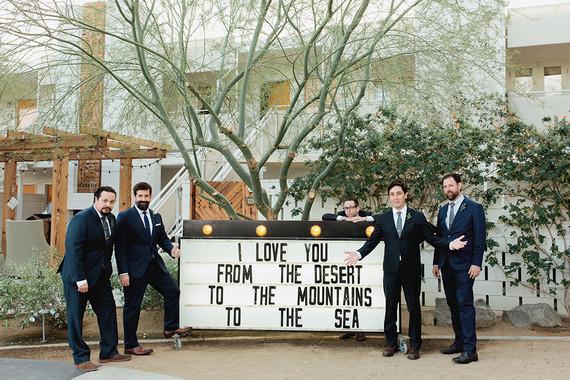 Ace Hotel groomsmen