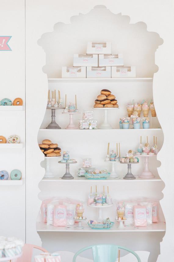 Pastel Bakery 1st Birthday First Birthday Party Ideas