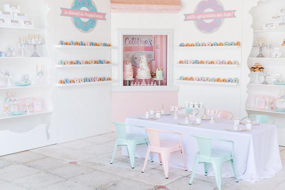 Pastel bakery 1st birthday party