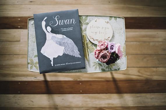 Moody swan lake birthday party