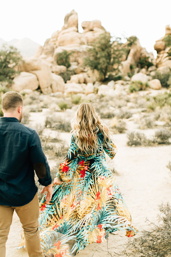 Joshua Tree engagement shoot