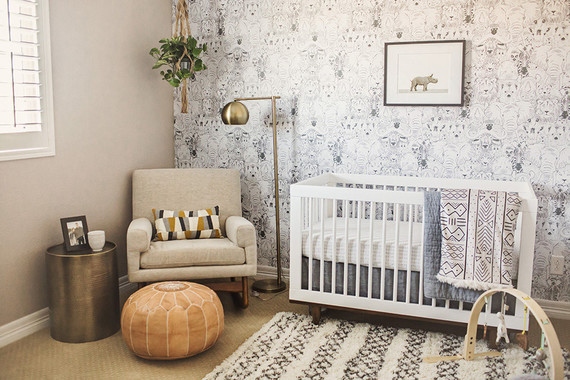 Neutral boy's nursery