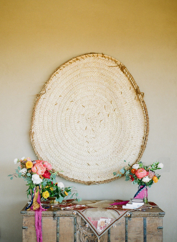Bohemian Marfa-inspired wedding