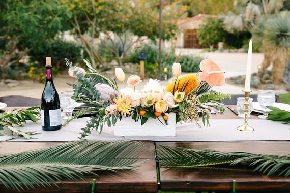 Desert tablescape