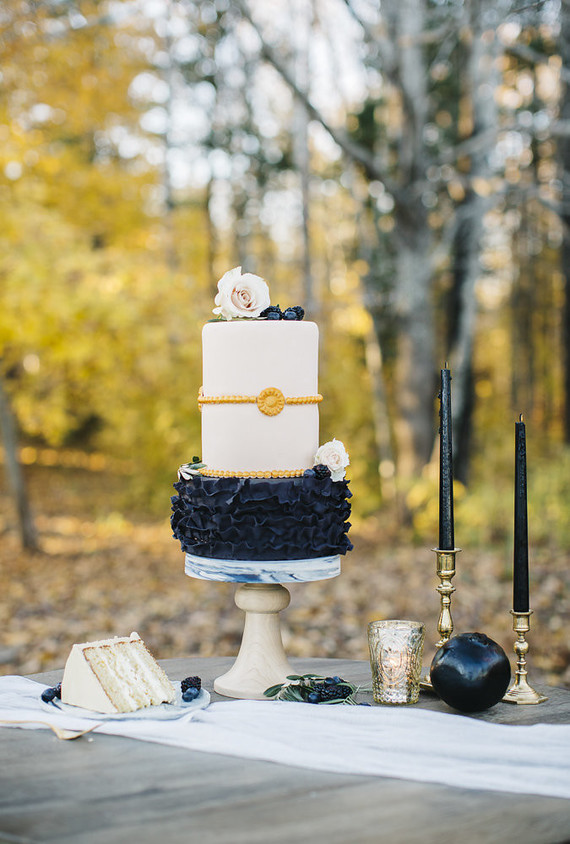 Fall wedding at Primo Restaurant | Rustic fall wedding | 100 Layer Cake