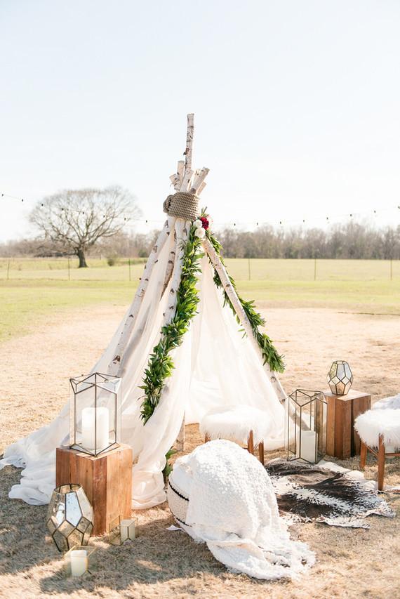 Southern bohemian wedding