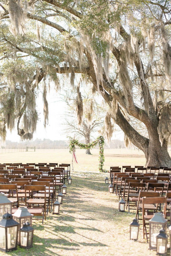 Southern wedding ceremony