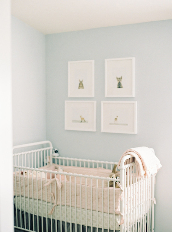 Classic girl's nursery