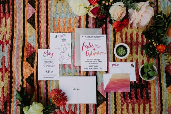Bohemian invitations