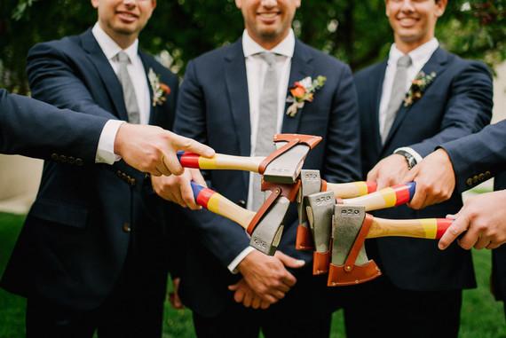 Bohemian modern fiesta wedding
